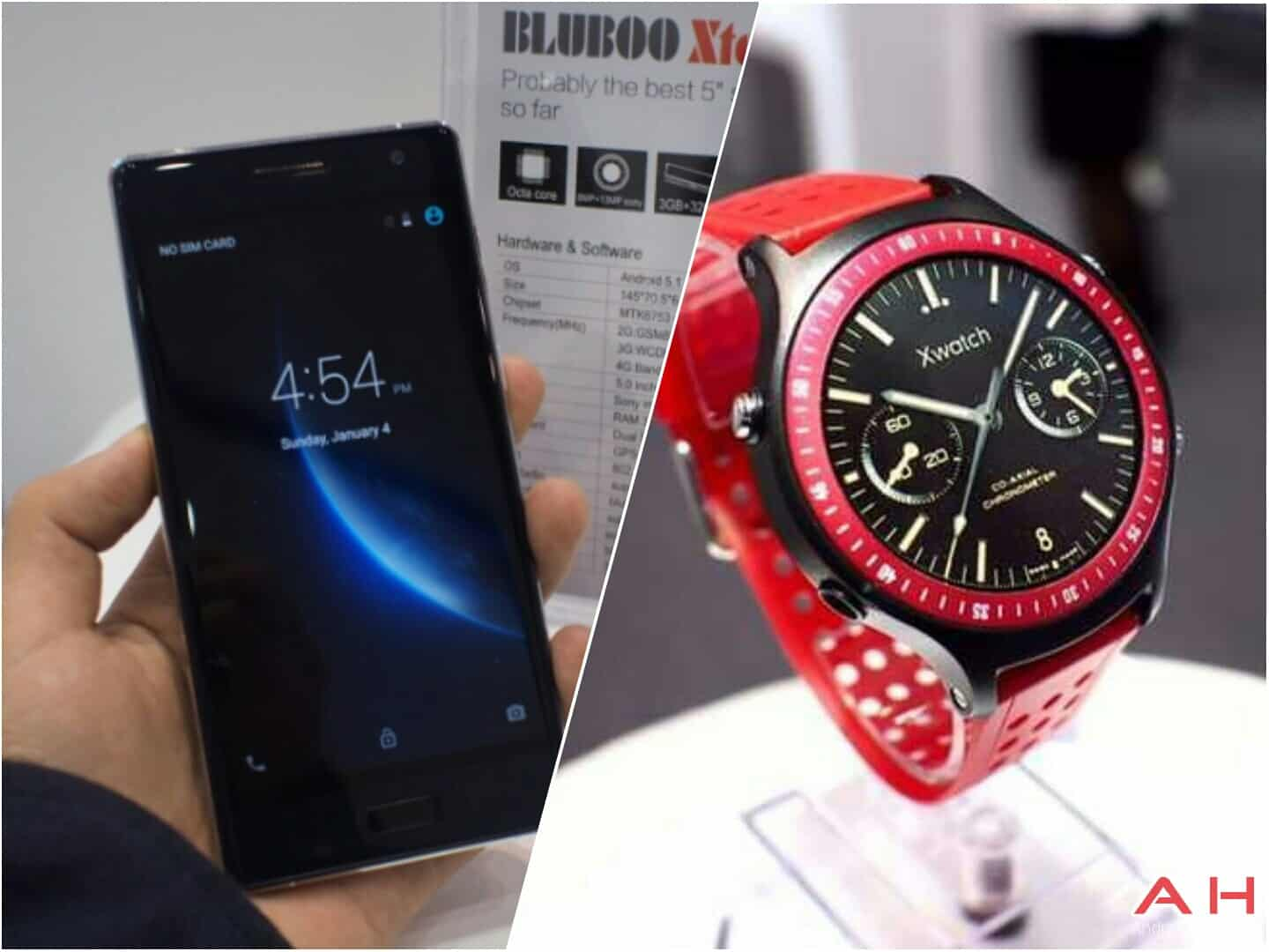 Bluboo Xwatch and Xtouch_1