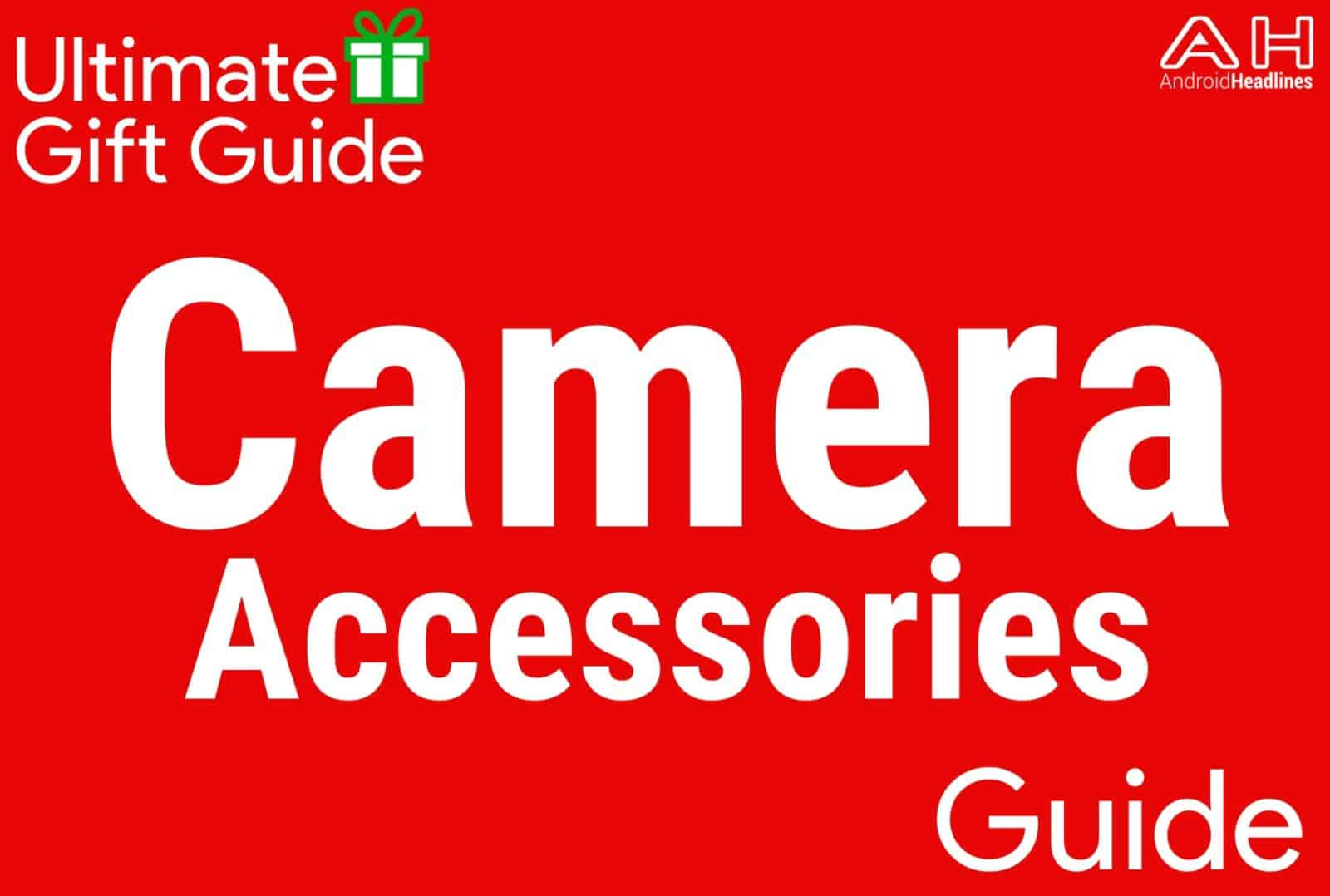 Camera Accessories - Gift Guide 2015