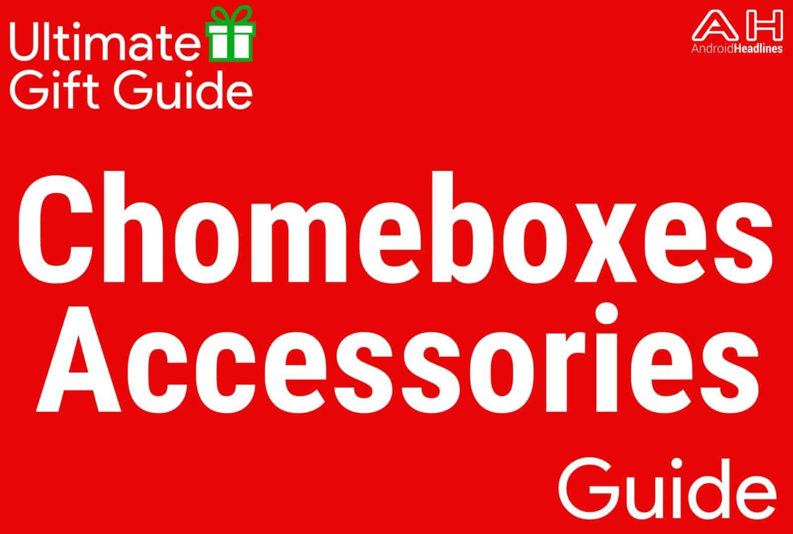 Chromebook Accessories - Gift Guide 2015