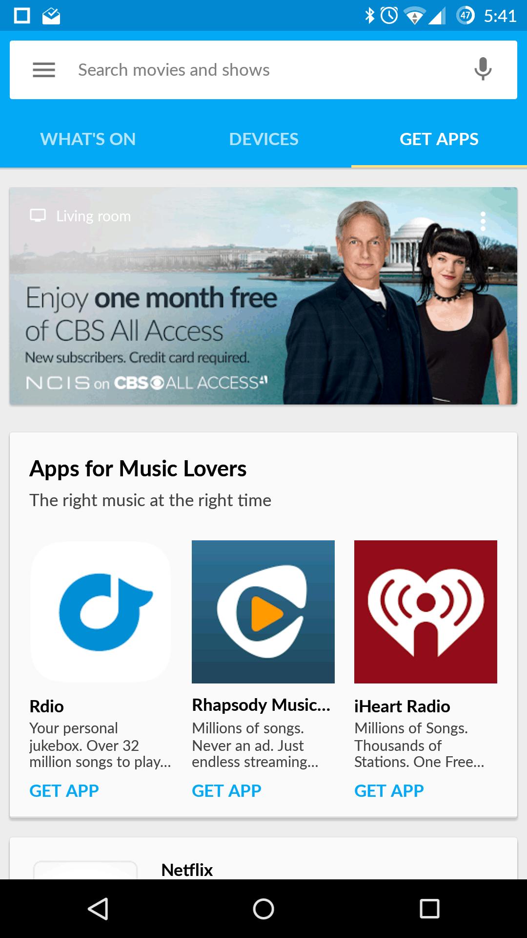 Chromecast 2015 AH app 3