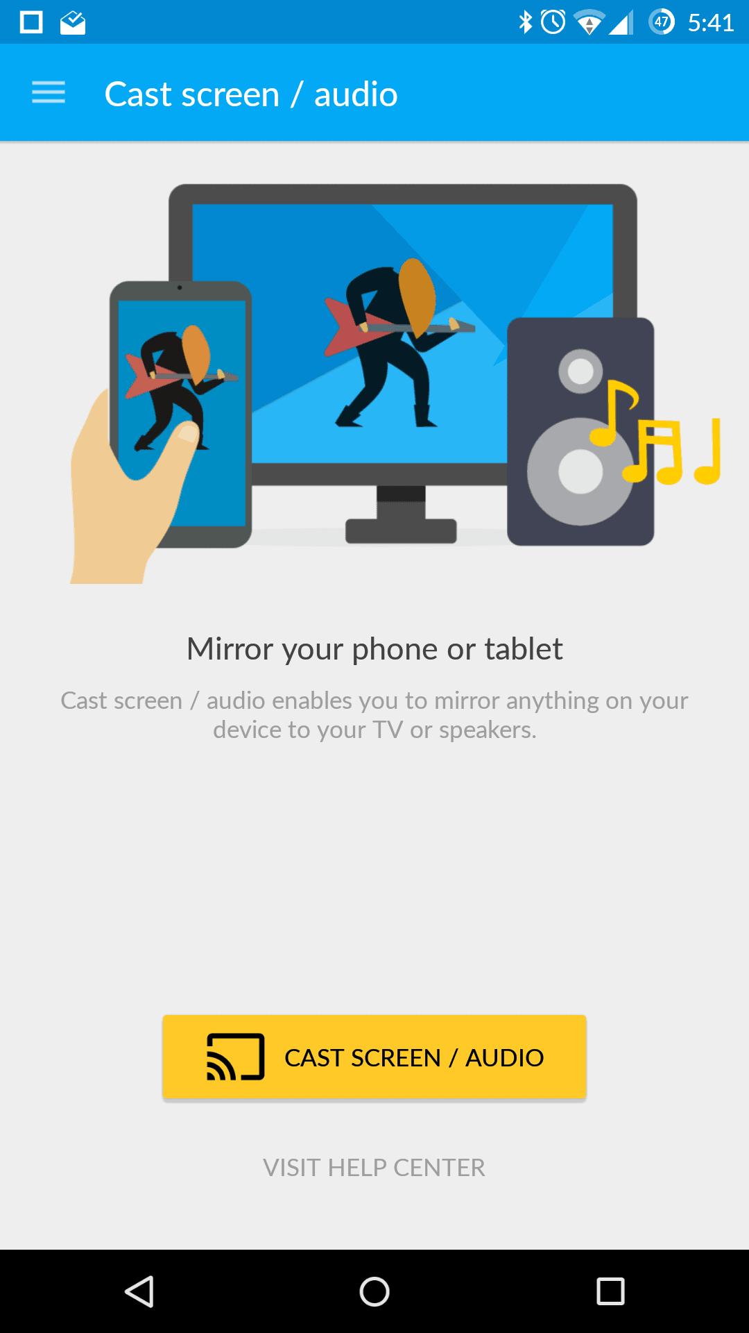 Chromecast 2015 AH app 4