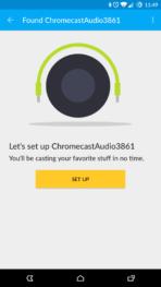 Chromecast Audio Setup AH 01