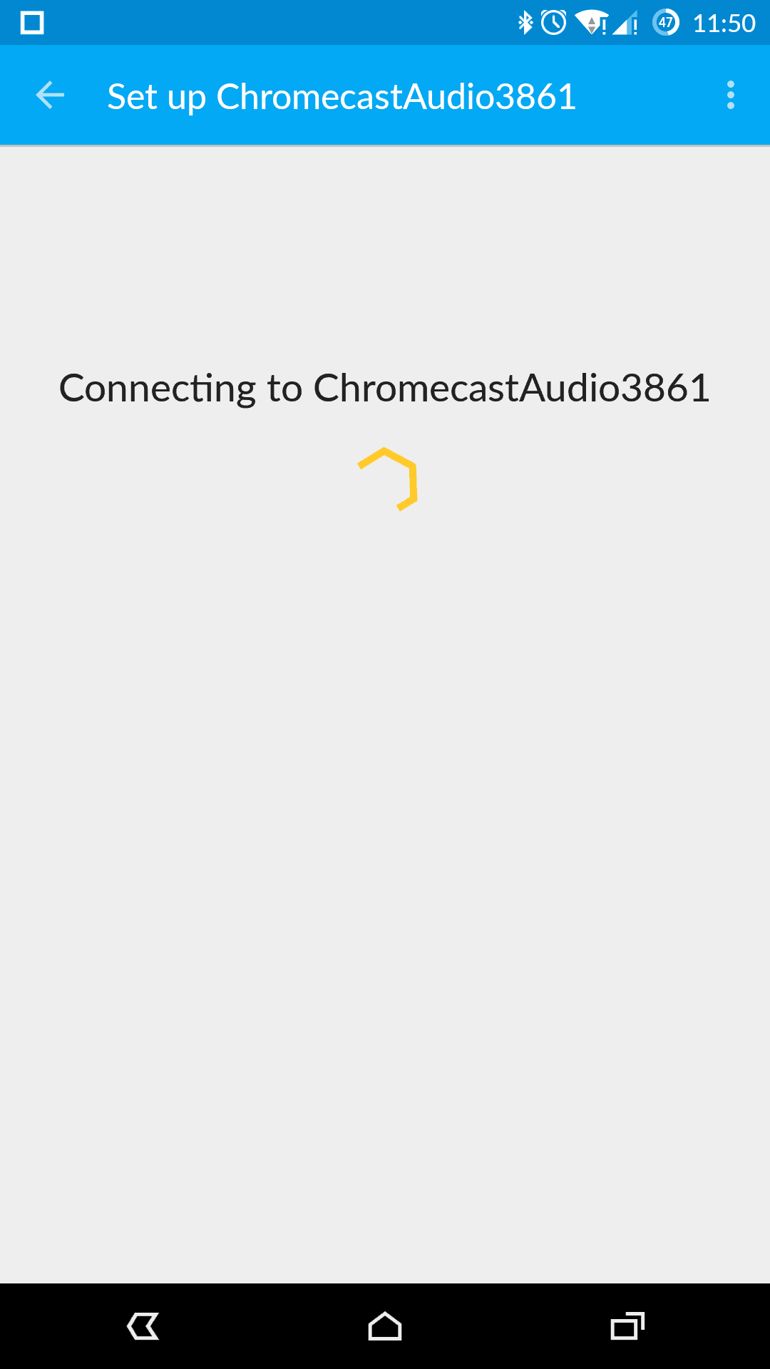 Chromecast Audio Setup AH 02