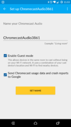 Chromecast Audio Setup AH 04