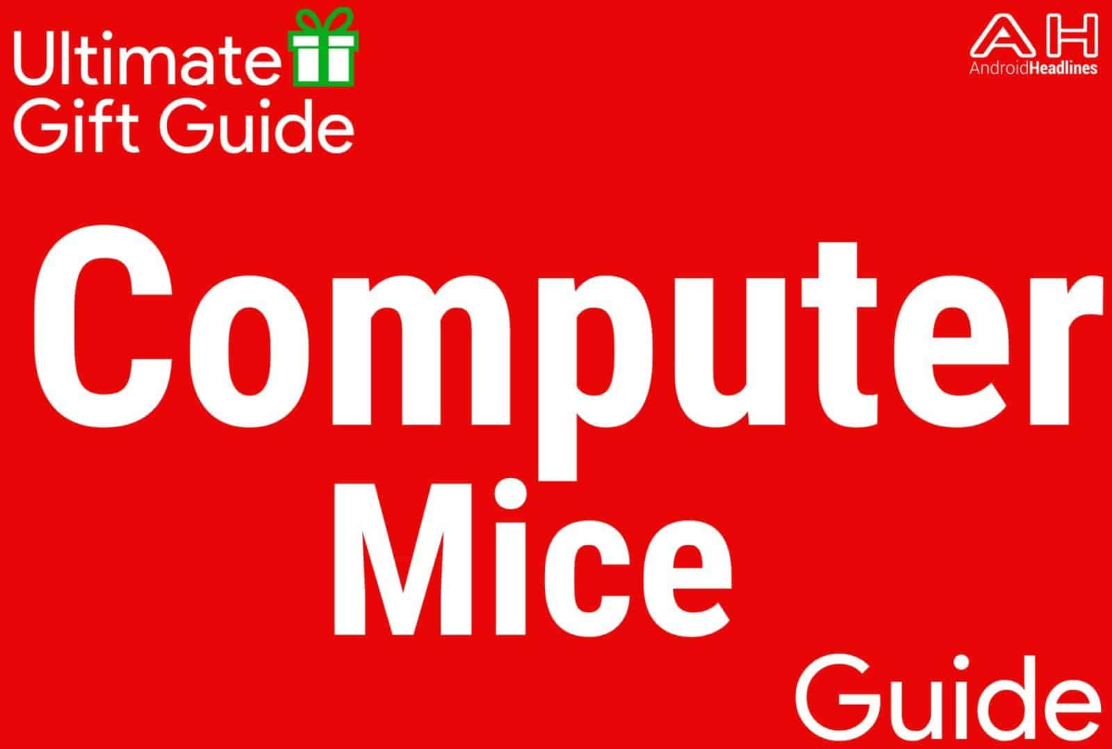 Computer Mice - Gift Guide 2015