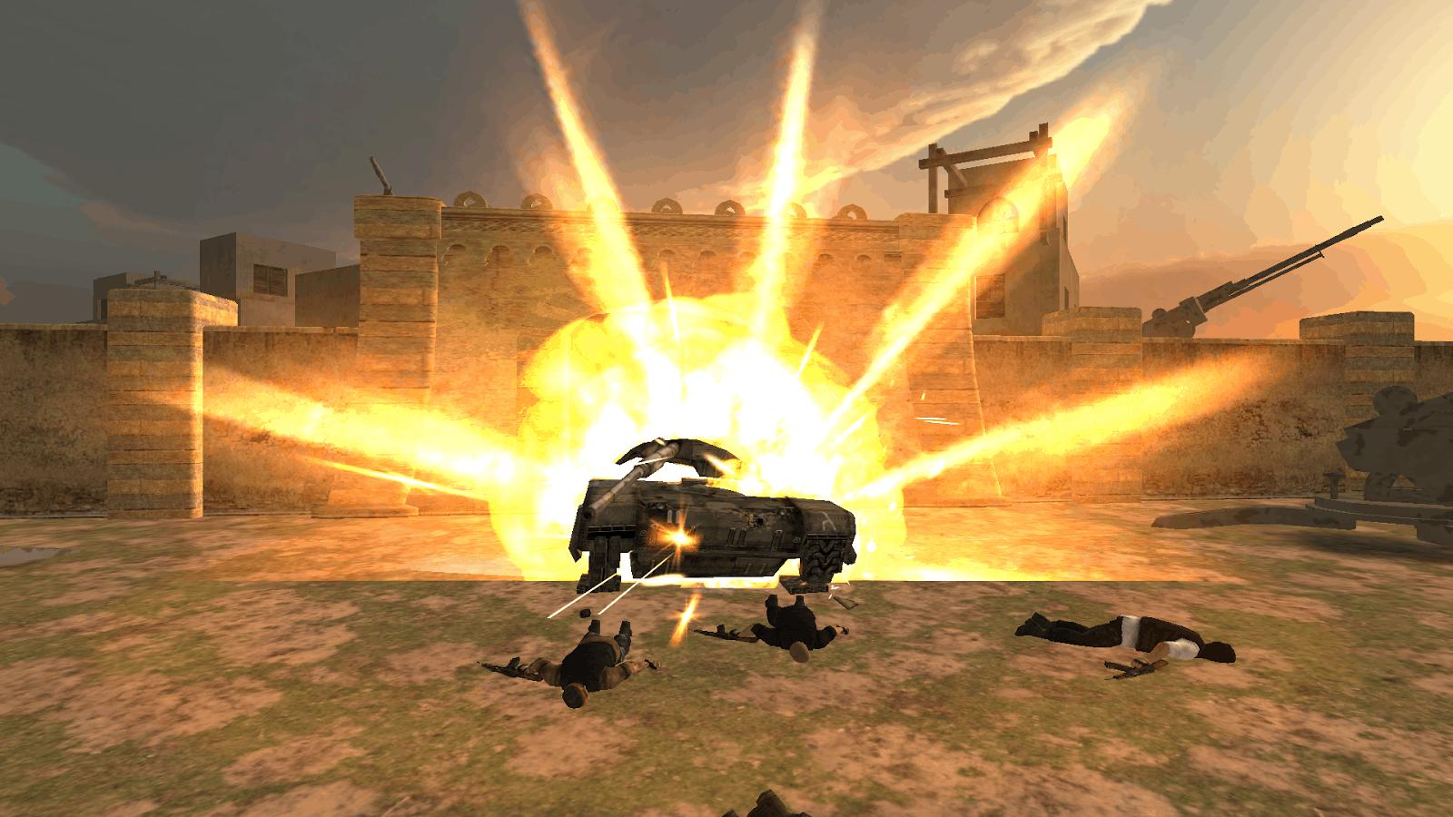 Death Mission explode