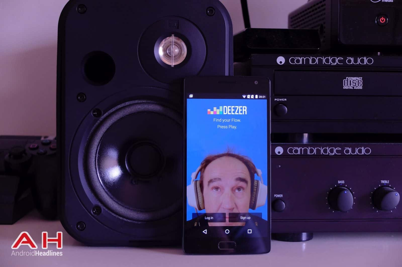 featured review a look at music streaming service deezer android news. Black Bedroom Furniture Sets. Home Design Ideas