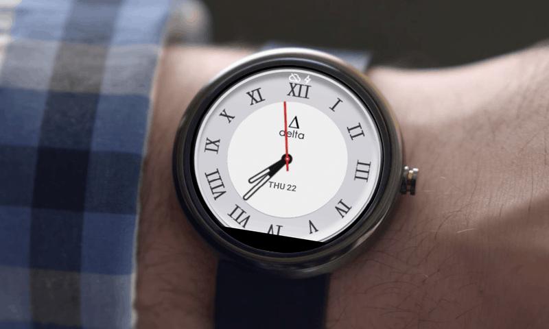 Delta Watch Face