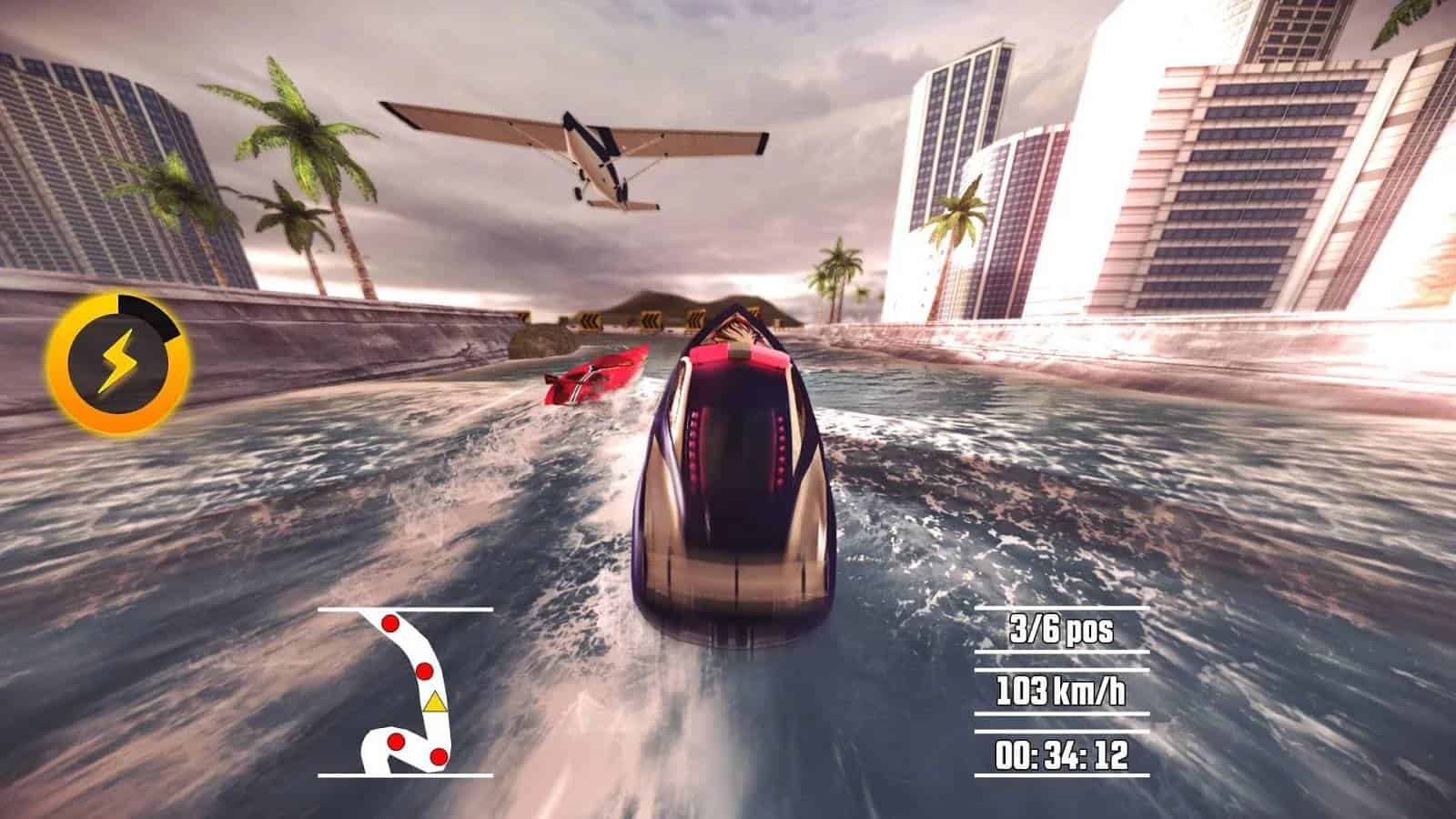 Driver speedboat paradise driver