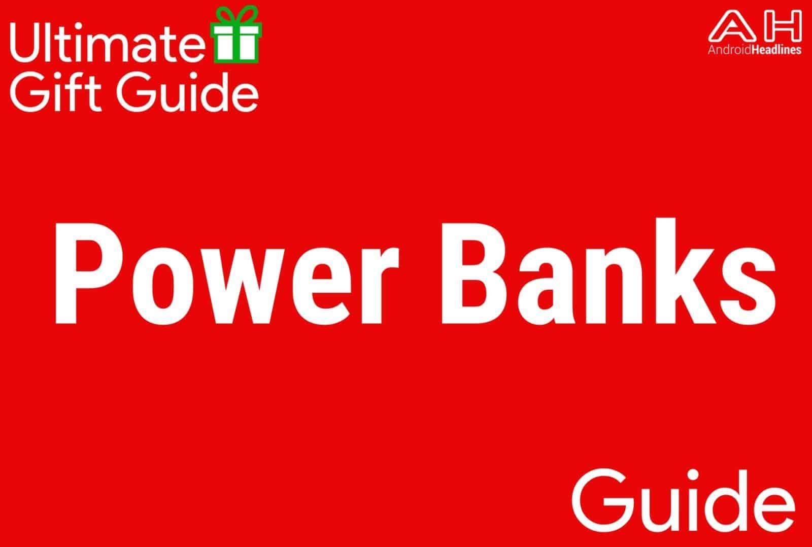 External Power Banks - Gift Guide 2015