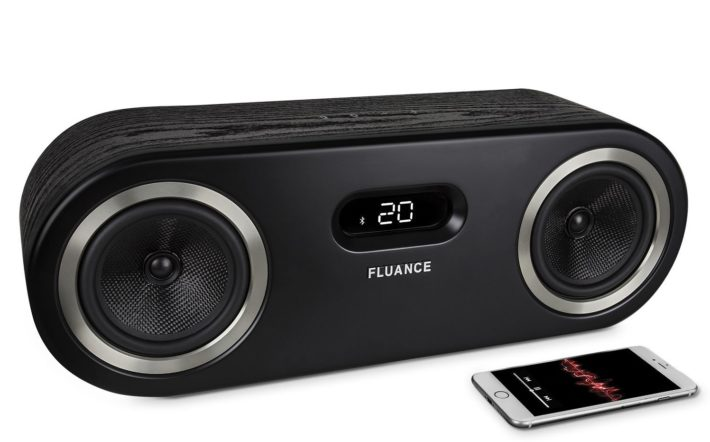 Fluance Fi50 Two-Way High Performance Wireless Bluetooth Premium Wood Speaker