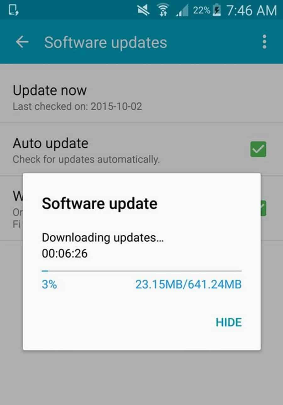 Galaxy Note 4 Canada 5.1.1