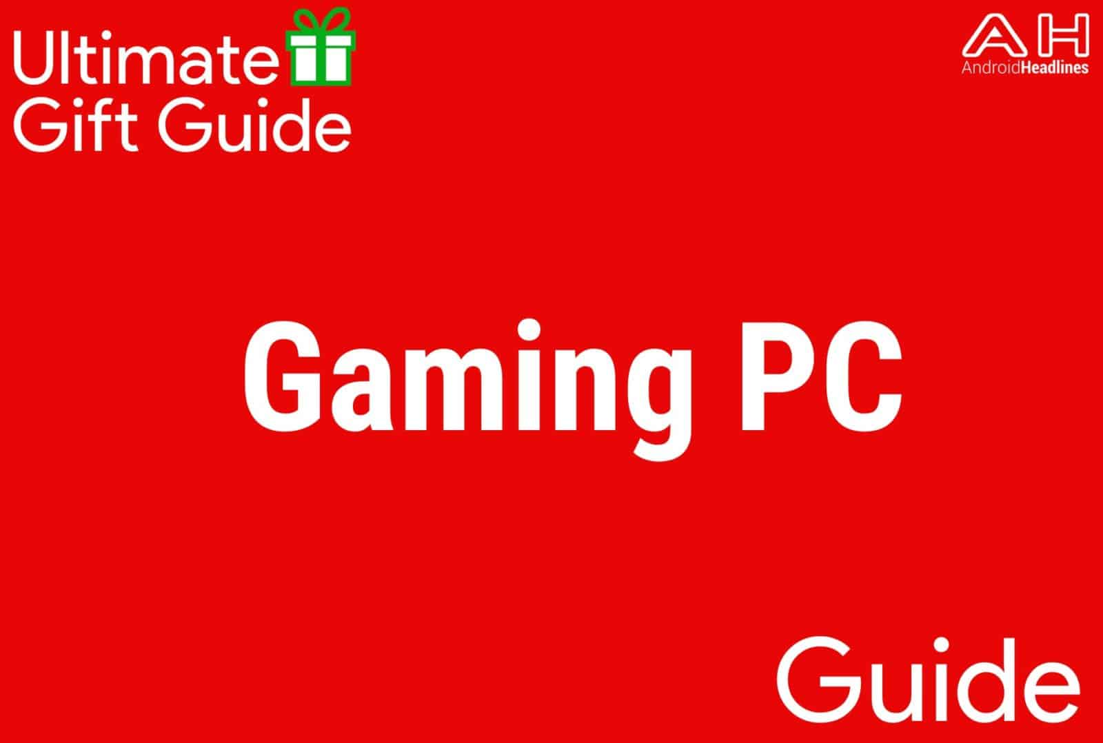 Gaming PC - Gift Guide 2015