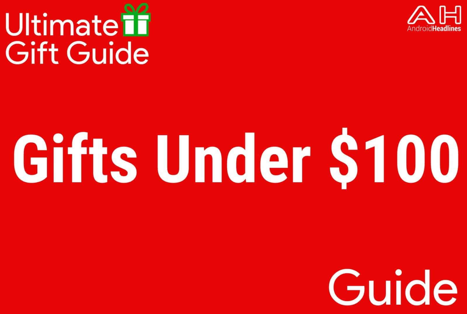 Gifts Under $100 - Gift Guide 2015