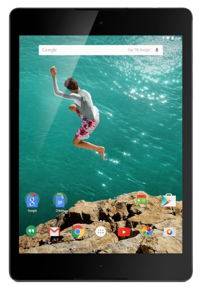 Google Nexus Tablet 9 (8,9 polegadas, 16 GB, preto)