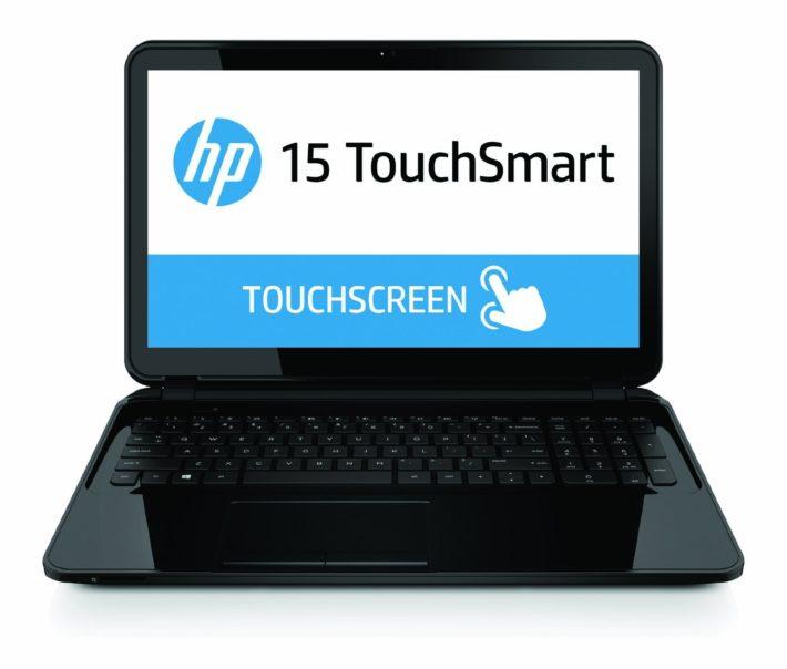 HP 15-d020nr 15.6-Inch Touchsmart Notebook (1.5 GHz AMD A4 Processor, 4GB DDR3L, 500GB HDD, Windows 8.1) Sparkling Black