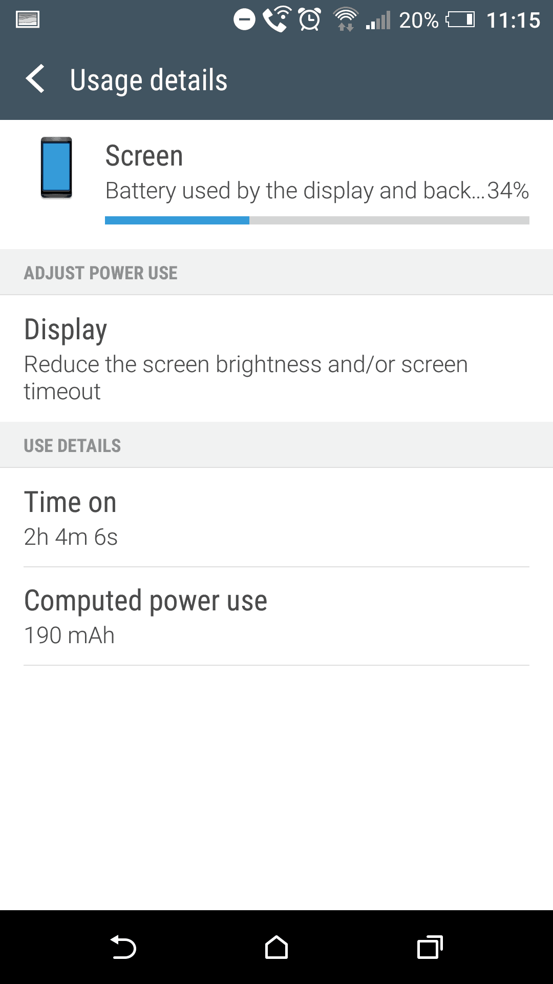 HTC One A9 Screen battery 2