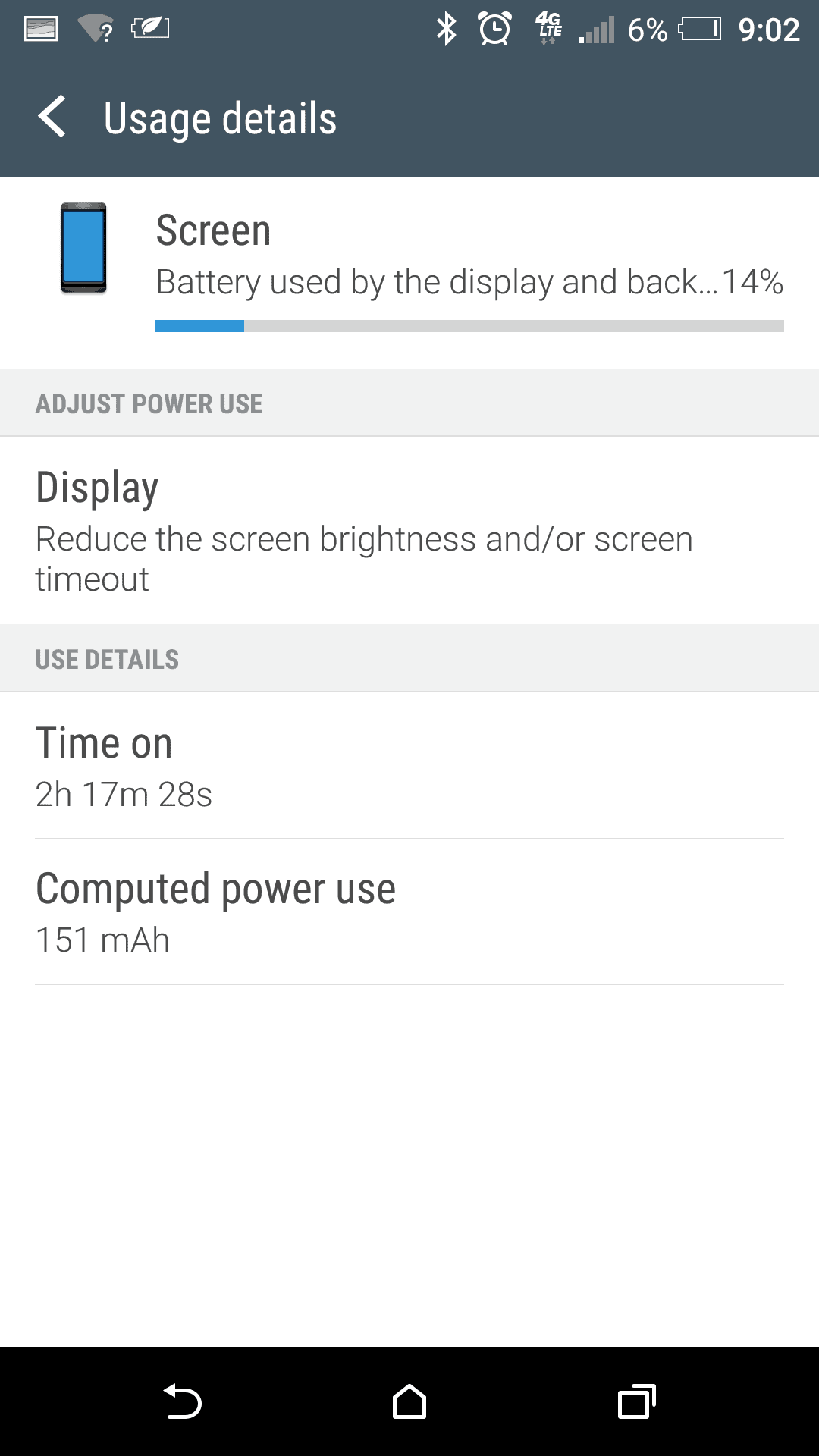 HTC One A9 Screen battery 4