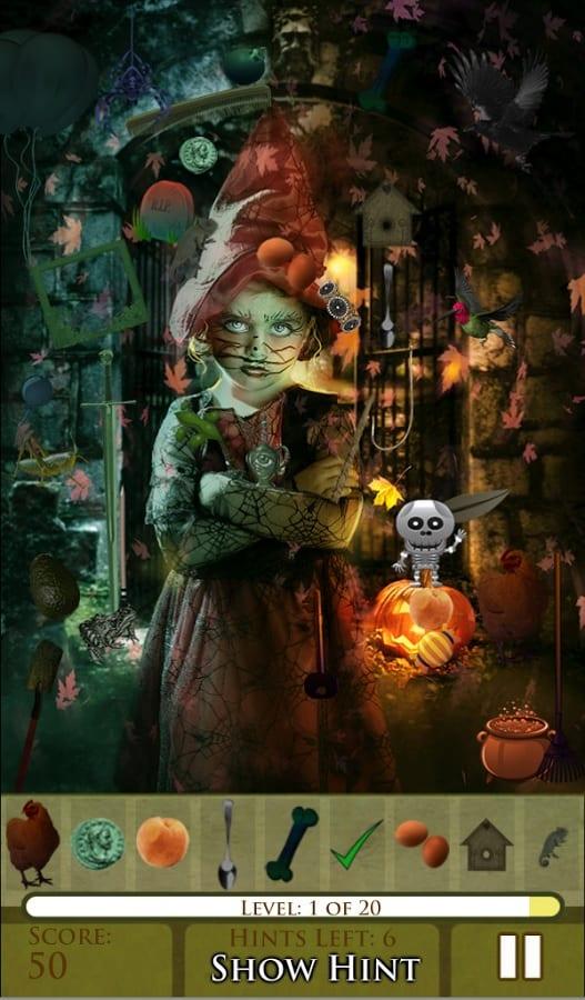 Hidden Object Halloween