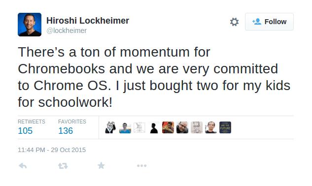 Hiroshi Lockheimer's tweet_1