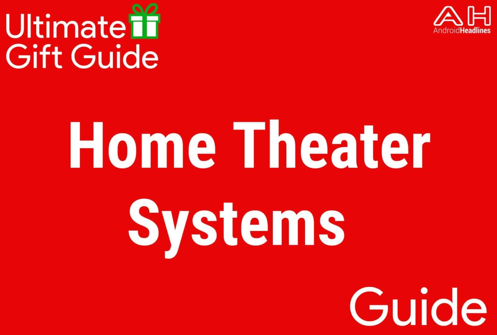 Home Theater Systems - Gift Guide 2015 2016