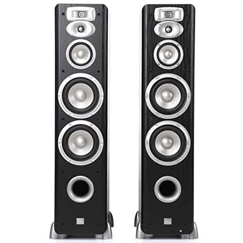 JBL L880 4-Way, High Performance 6-inch Dual Floorstanding Loudspeaker