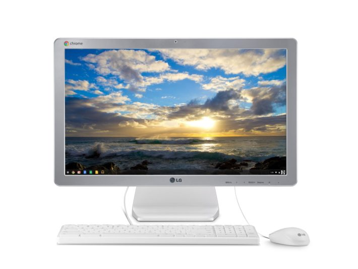 LG ChromeBase 22CV241-W 22-Inch All-in-One Cloud Desktop