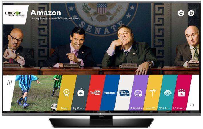 LG Electronics 55LF6300 55-inch 1080p Smart LED TV (2015 Model)