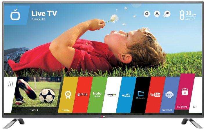 LG Electronics 70LB7100 70-Inch 1080p 120Hz 3D Smart LED TV (2014 Model)