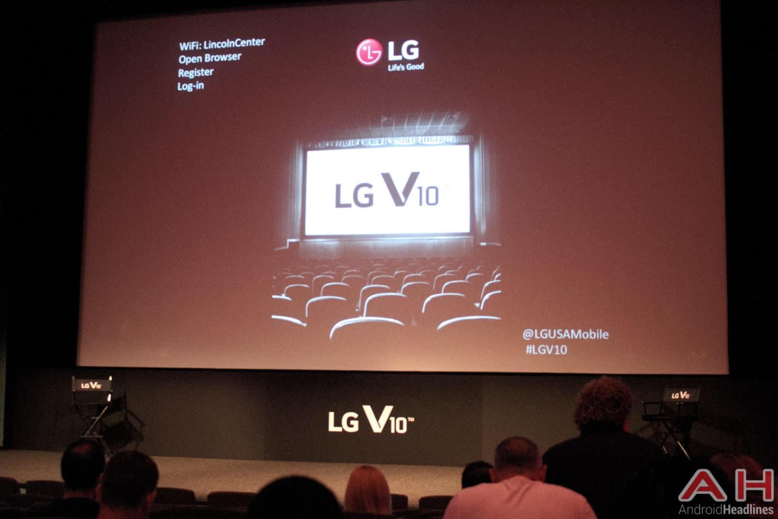 LG V10 Event 1
