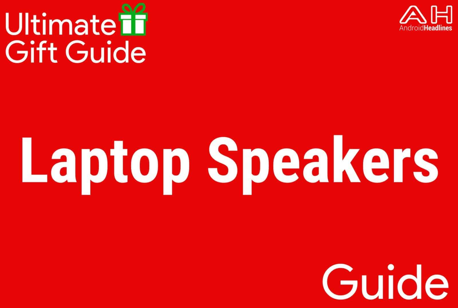 Laptop Speakers - Gift Guide 2015