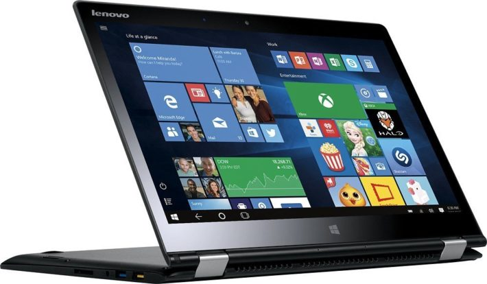 Lenovo - Yoga 3 2-in-1 14 Touch-Screen Laptop