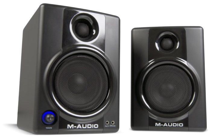 speakers under 10. m-audio studiophile av 40 speakers under 10