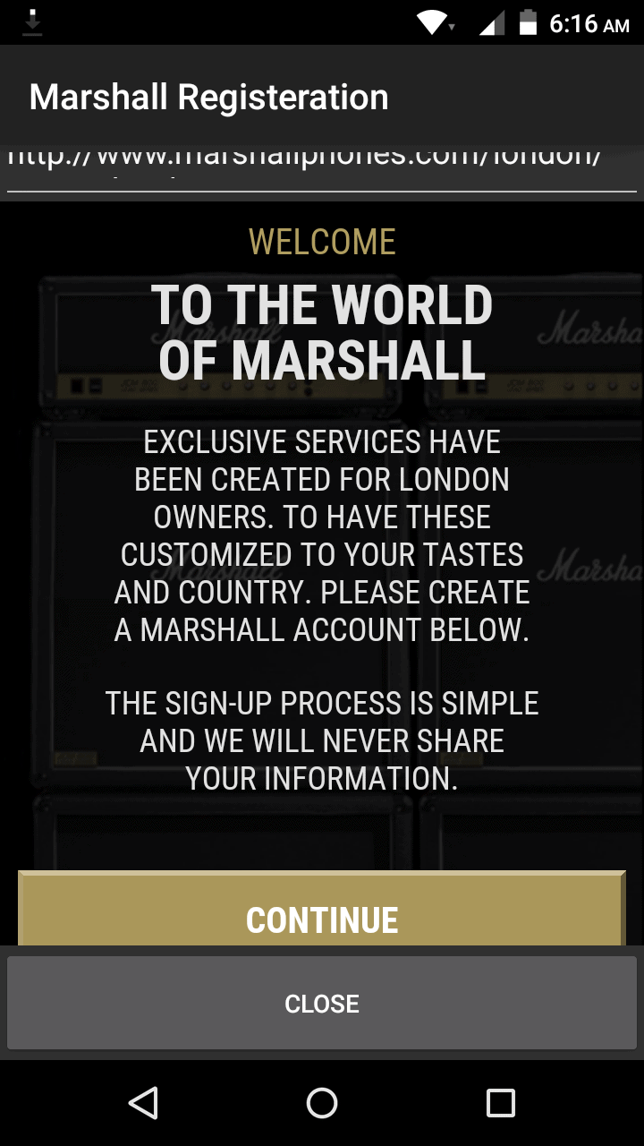 Marshall London AH soft 1