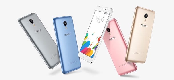 Meizu Blue Charm Metal leak 1