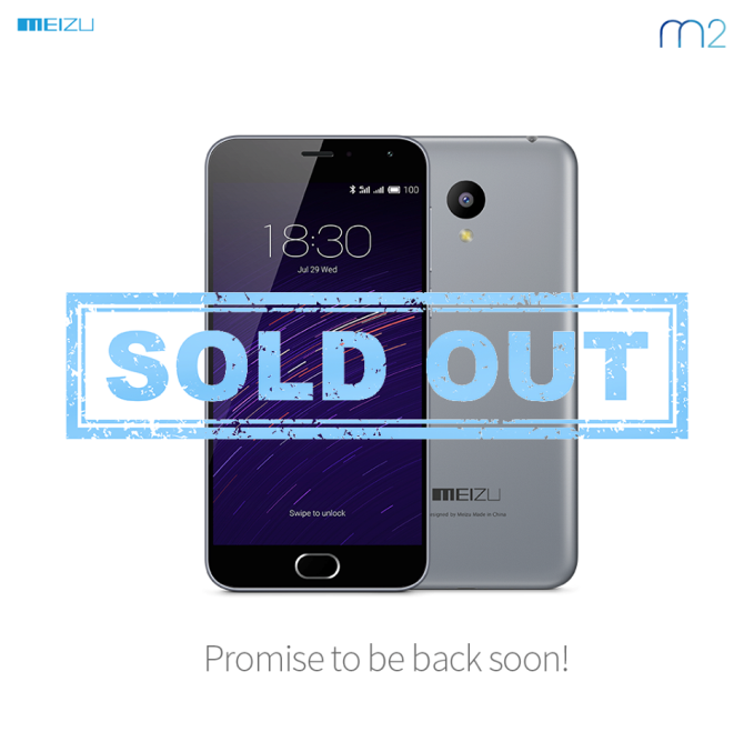 Meizu M2 sold out_1