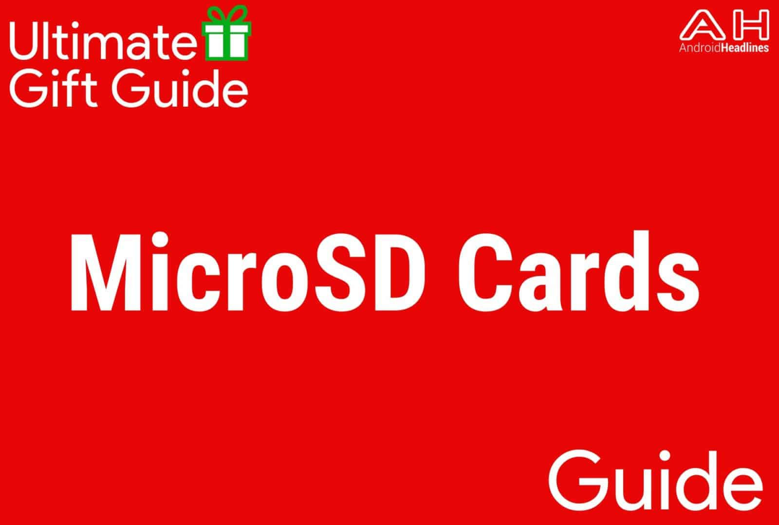 MicroSD Cards - Gift Guide 2015