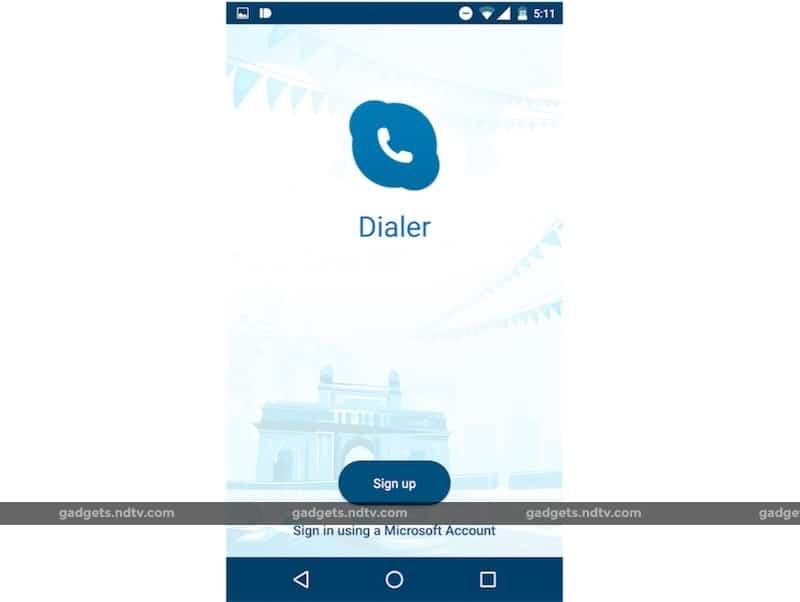 Microsoft Dialer App KK