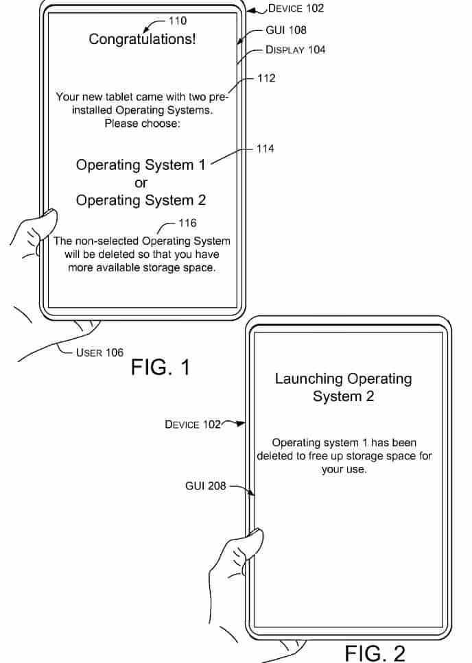 Microsoft Patent To Boot Two OSs 2