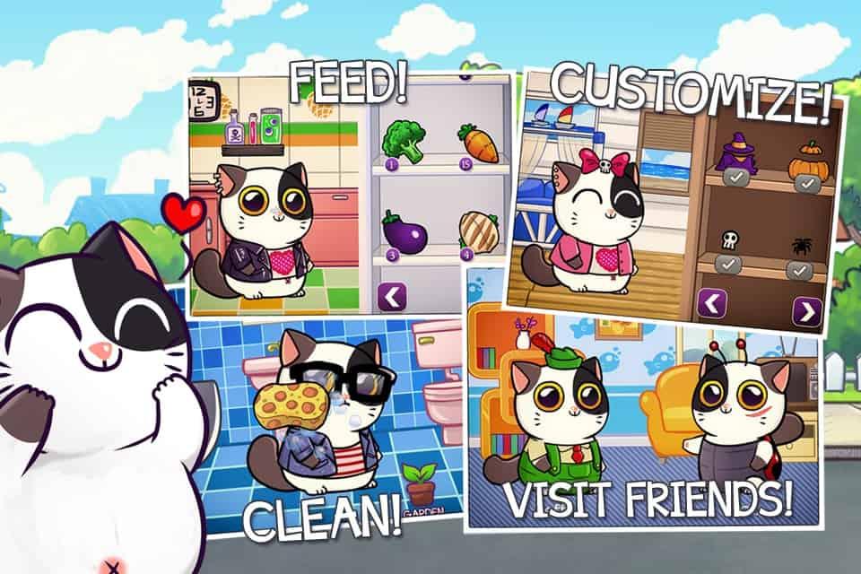 Mimitos Cat Virtual Pet