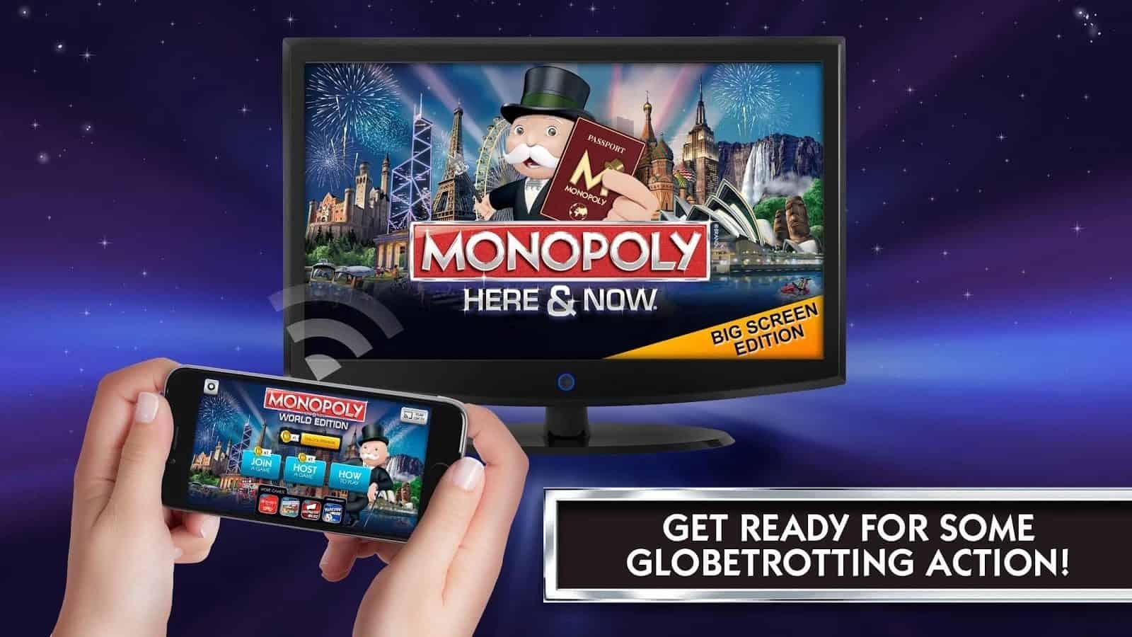 Monoply big screen