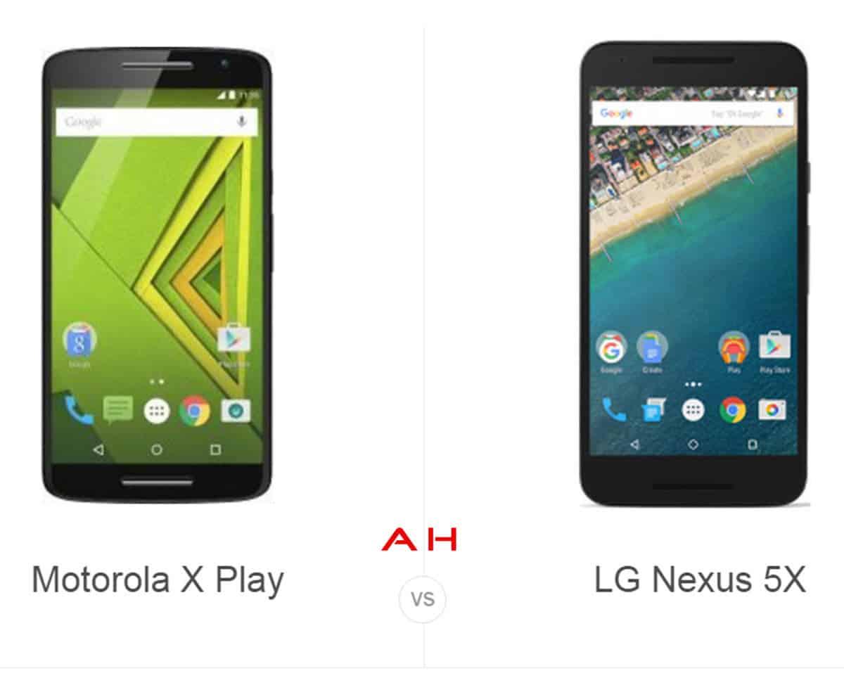 Moto X Play vs Nexus 5X cam AH