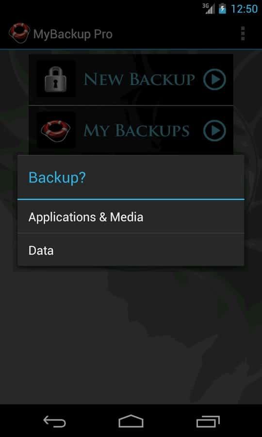 My Backup