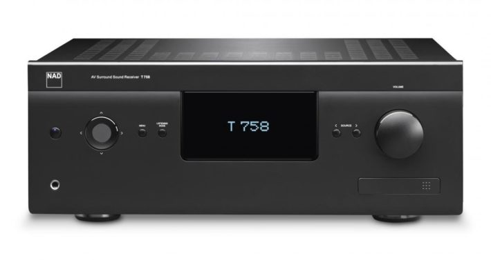 NAD Electronics T758 7.1 Channel 3D A:V Surround Sound Receiver
