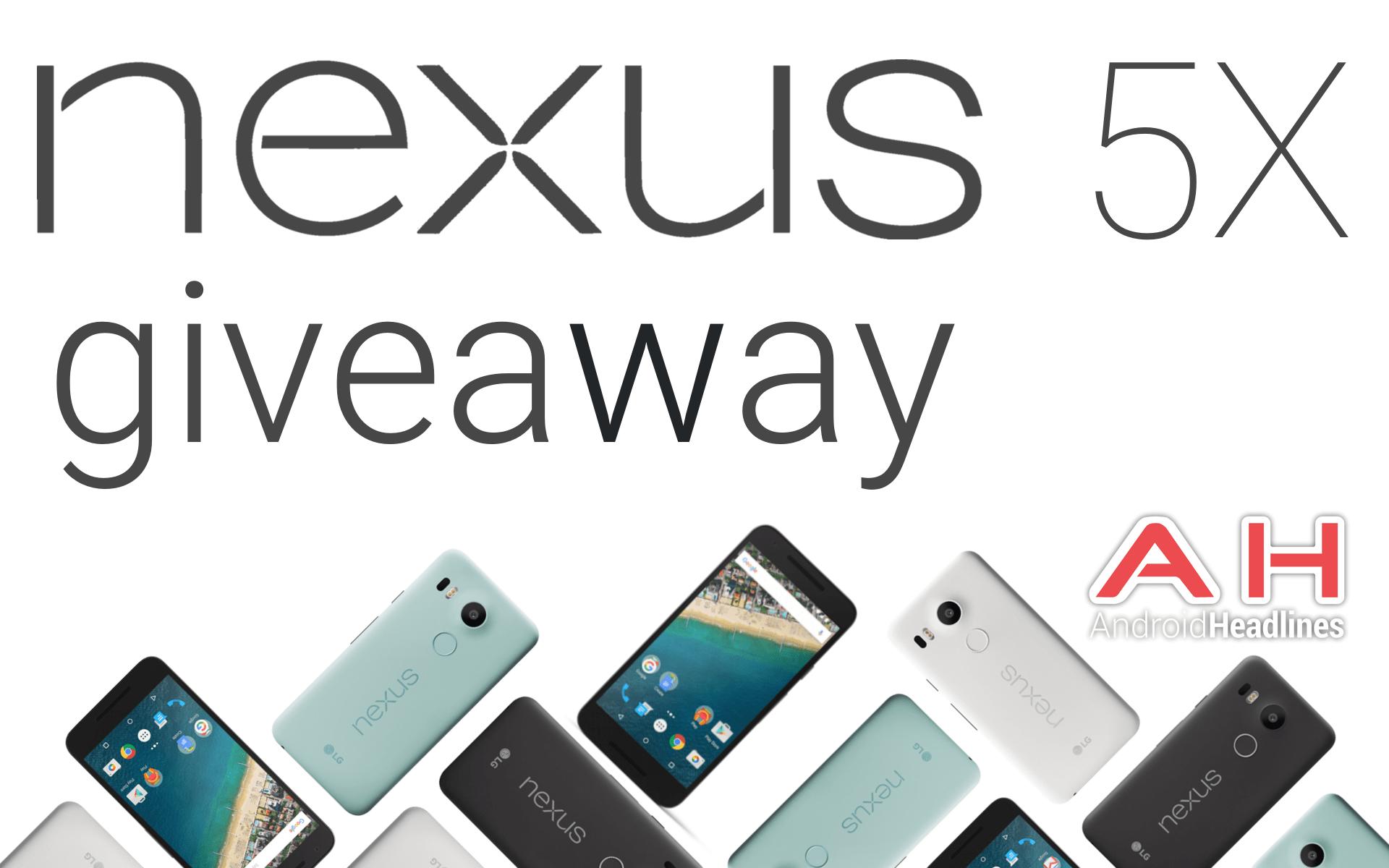 Nexus 5X Giveaway