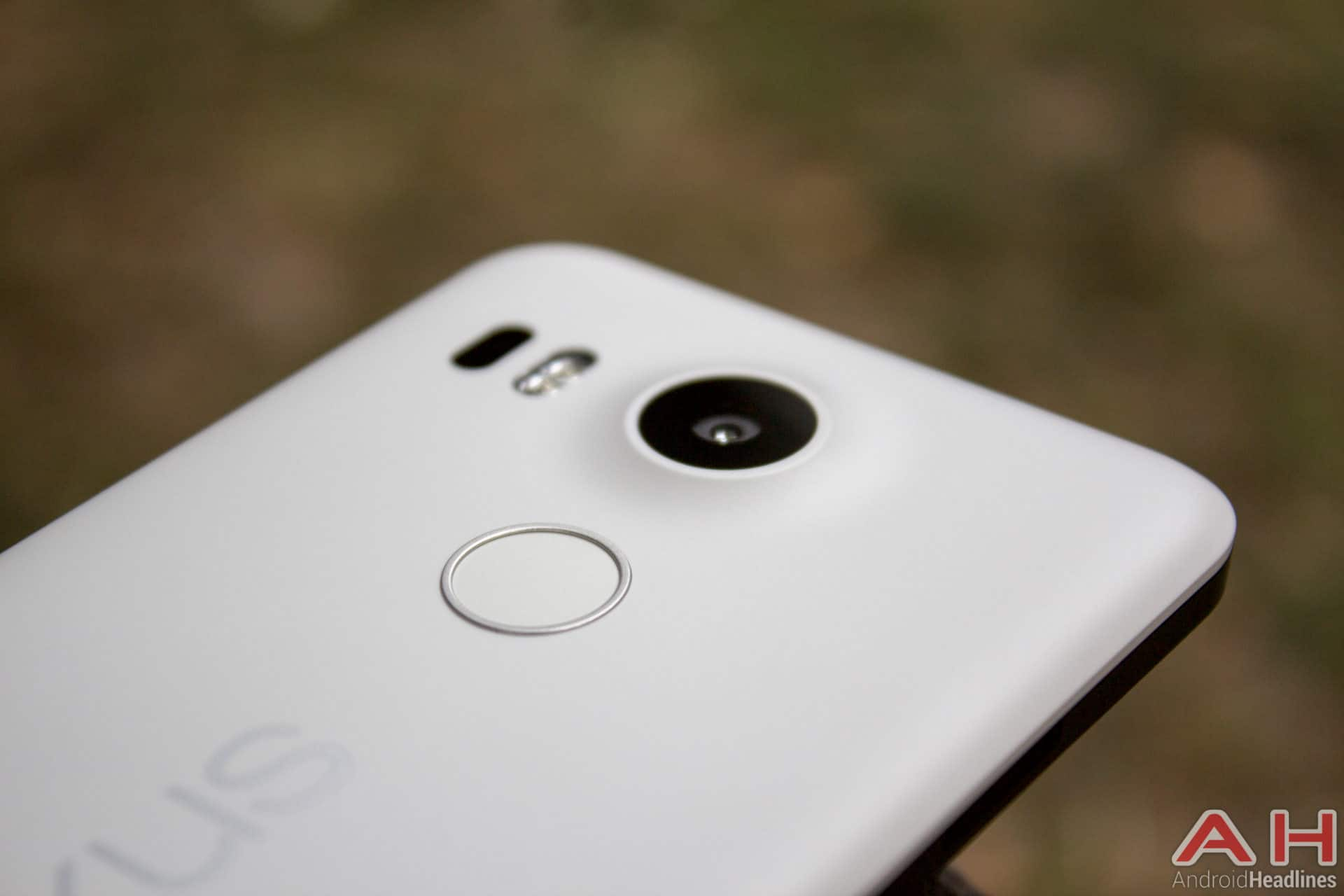 Nexus 5x AH fingerprint scanner