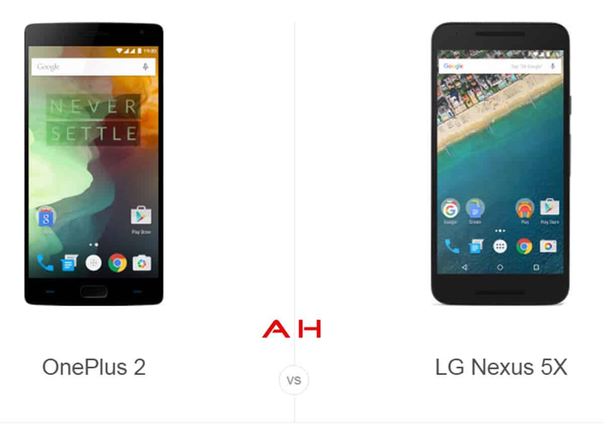 OnePlus 2 vs Nexus 5 cam AH