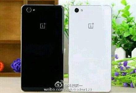 OnePlus X black and white leak_1