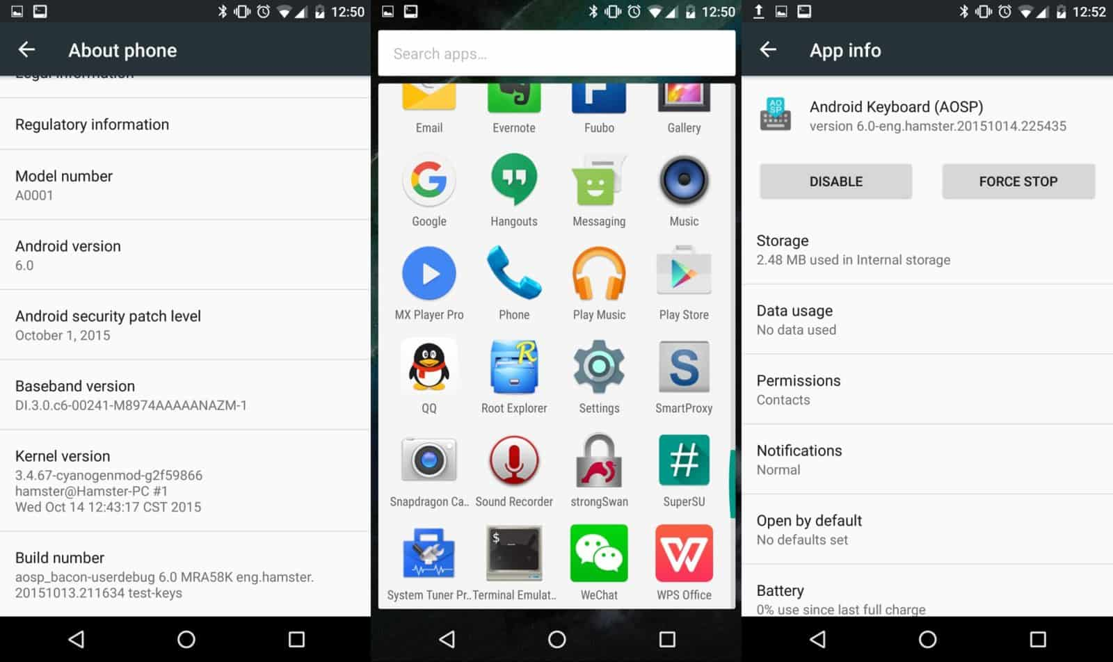 Oneplus one unofficial Marshmallow