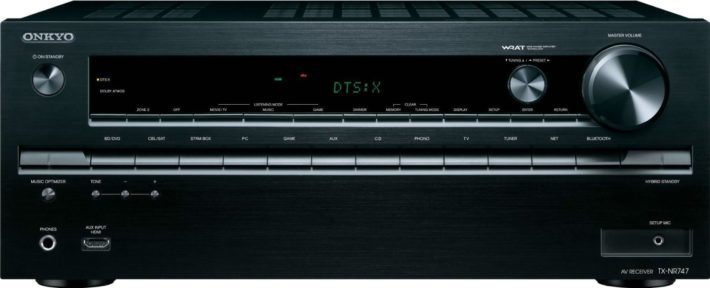 Onkyo TX-NR747 7.2-Channel Network A:V Receiver